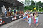 085 Předávání cen dětem za namalované obrázky. Výstava probíhala ve Zděné po celou dobu oslav.